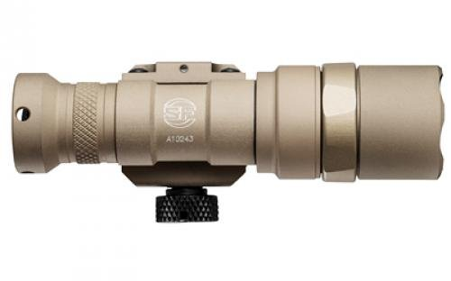 M300C-Z68-TN Scout Light, 3V, M75 Thumb Screw Mount, 500 Lumens, Tan, Z68 Click On/Off Tailcap (Surefire Mini)