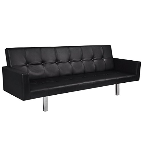 Festnight Adjustable Sofa Sleeper Bed Lounger 72.4