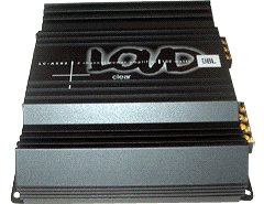 Lc A502 Clear 2 Channel Power Amplifier