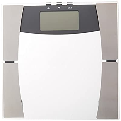 Quest Digital Electronic Bathroom Scale with Body Mass Index and Body Fat Analysis