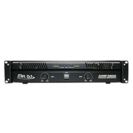 Mr Dj AMP2800 Amplifier Equipment Mr Dj Inc.
