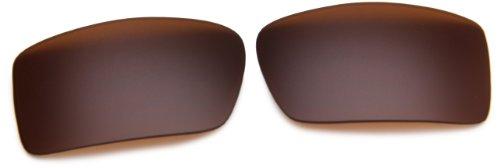 Oakley Gascan 13-559 Rimless Lens,Multi Frame/Dark Bronze Lens,One - Gascan Oakley Size Frame