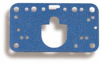 Holley Performance 108-91-2 Metering Block Gasket; Non-Stick; Primary/Secondary Gaskets; 2 Per Package; Blue;