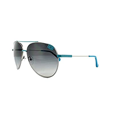 Calvin Klein Jeans Sunglasses CKJ106S 020 Nickel & Blue Grey Gradient