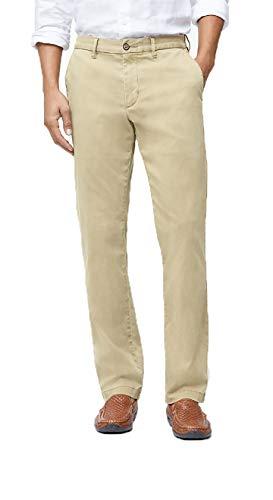 (Tommy Bahama Boracay Flat-Front Chino Pants (Khaki, 40 34))