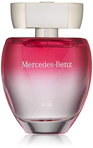 Mercedes Benz | Rose | Eau de Toilette | Spray for Women | Floral Fruity Scent | 3 oz