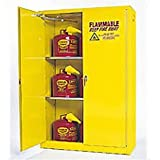 Flammable Cabinet With Self Close Double Door 45 Gallon