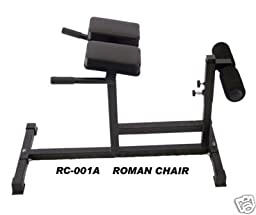 Roman Chair White Frame(PICTURE SHOWN IN BLACK)