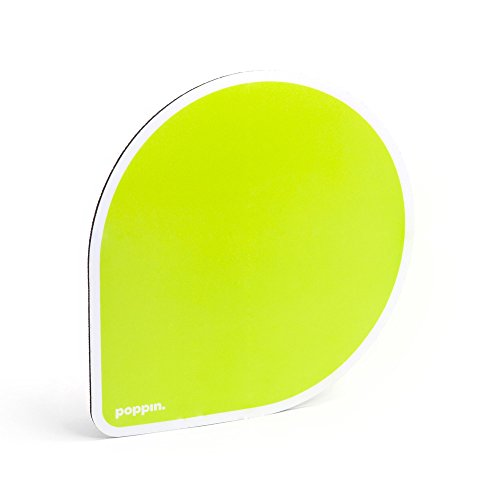 Poppin Mouse Pad, 1 Count (Lime Green)