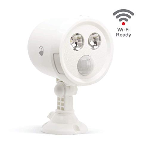 Fox&Summit WiFi Outdoor Motion Triggered Spot Light, WiFi Enabled Battery Operated Smart Sensor, No Hub Required (Best Recycle Bin App For Android)