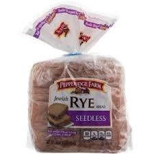 Jewish Bread - Pepperidge Farm: Jewish Rye Seedless Bread, 16 Oz (Pack of 2)
