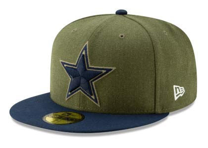 Dallas Cowboys Fitted Hats. Dallas Cowboys New Era Salute to Service  59Fifty Cap 33fb5208446c