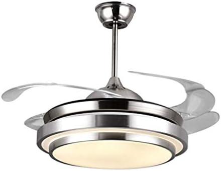 Ventilador de Techo Moderno con luz Luz de Ventilador de Techo LED ...