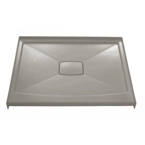 (Kohler K-9397-K4 Archer Acrylic Shower Receptor with Removable Cover, 48