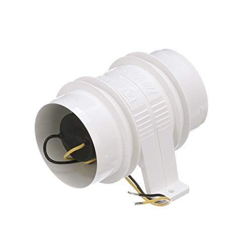 Attwood 1731-4 Blower (White, 3-Inch)