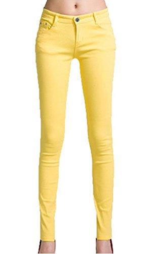 Vanilla Para Vaqueros Inc Mujer Amarillo vArvw8