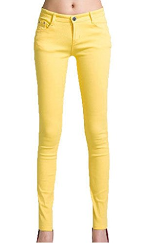 Vanilla Yellow Donna Inc Vanilla Inc Jeans pYqw7d7xz