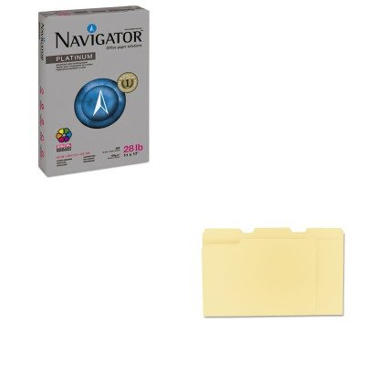 KITSNANPL1728UNV12113 - Value Kit - Navigator Platinum Paper (SNANPL1728) and Universal File Folders (UNV12113)
