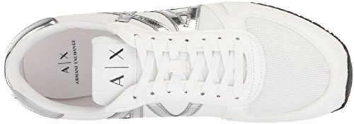 Running Men Retro X Sneaker A Armani Fashion White Exchange qzwXn1St