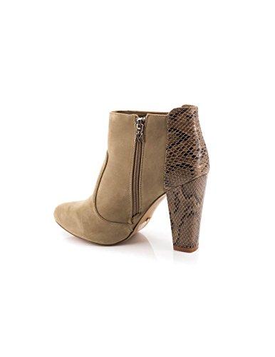 Maria Mare Damen 2016 I Basic Calzado Señora Geschlossene Schuhe mit Absatz Beige