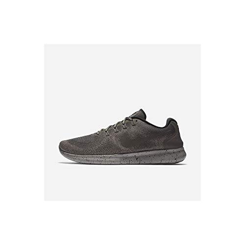 - Nike Womens Free Rn 2017 Low Top Lace Up Running Sneaker, Ridgerock, Size 9.5