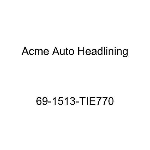 Acme Auto Headlining 69-1513-TIE770 Black Replacement Headliner (1969 Pontiac Firebird 2 Door Hardtop (5 Bow))
