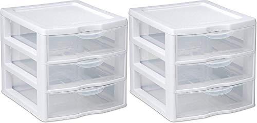 large 2 drawer unit - 5