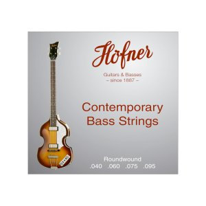 Hofner Contemporary Round Wound 40-95 Bass Strings