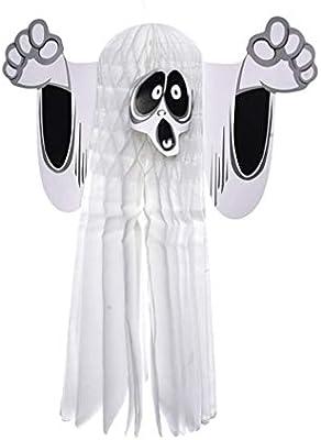 Halloween Night Scary Haunting Owl Tin Sign NEW