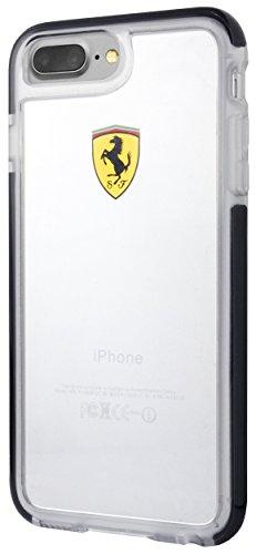 Ferrari Hard Case for iPhone 7 Plus and iPhone 8 Plus (Shockproof - Transparent - Case Ferrari