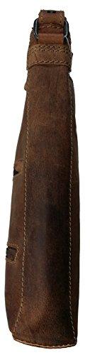 Hill Burry - Bolso al hombro para hombre marrón