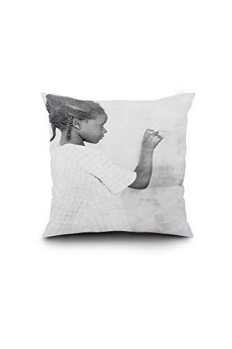 (Lantern Press Fred Clarke, Pittsburgh Pirates, Baseball Photo (16x16 Spun Polyester Pillow, Square))