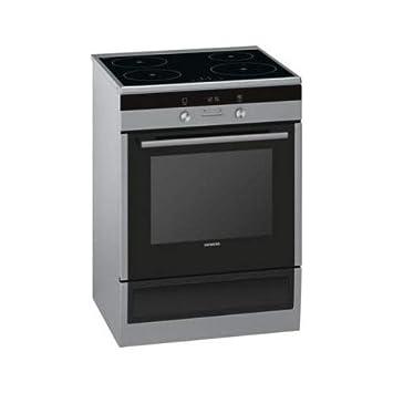 Siemens iQ500 HL9S5A340 - Cocina (Cocina independiente, Negro, Giratorio, Tocar, Acero inoxidable, Parte superior delantera, 1,2 m): Amazon.es: Hogar