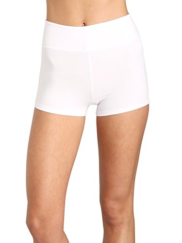 Indah Fizz Zipper Shorts White