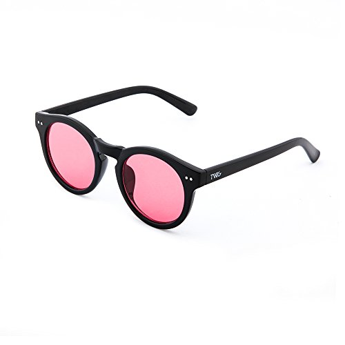 espejo Gafas FRIDA sol Negro degradadas de TWIG Rosa mujer IxtHwqxzfr