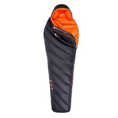 ZYT Sac de couchage Sac Momie Simple -15 to -10 Degrees Celsius Duvet d'oie 900gRandonnée / Camping / Plage / Voyage / Chasse / Outdoor /