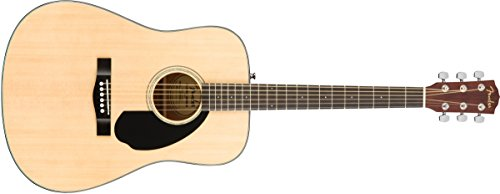 Fender CD-60S Right Handed Acoustic Guitar – Dreadnaught Body – Natural
