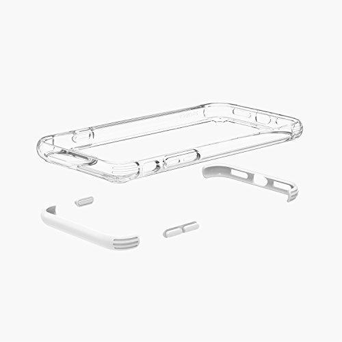 Anker SlimShell iPhone 8 Plus Hülle, iPhone 7 Plus Hülle Schlankes & Leichtes Design Schützendes Case (Weiß)