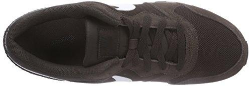 Nike Md Runner 2, Zapatillas de Running Hombre, Marrón/Blanco/Gris (Velvet Brown/White-Cave Stone), 7.5
