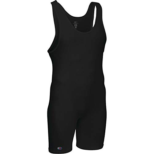 Cliff Keen The Relentless Wrestling Singlet - SIZE: XXL, COLOR: Black