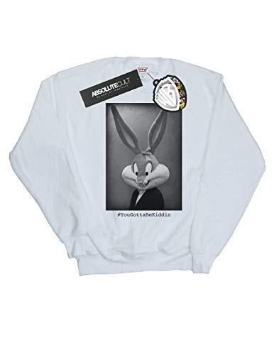 Camisa Blanco Bunny Bugs Tunes Looney Entrenamiento Cult Absolute Mujer Yougottabekiddin De qxBpgCnw