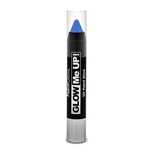 Glow Me Up Uv Paint Stick, Blue, 3.5g