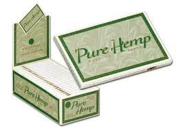 Pure Hemp Rolling Paper - 1 1/2 Size, Classic, 25 Booklets