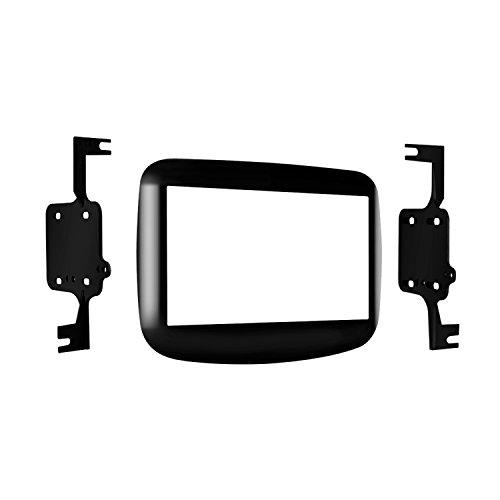 (Metra 95-6517HG Dodge Dart Double DIN Mounting Kit 2013-Up (High Gloss Black))