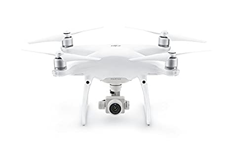 DJI Phantom 4 Advanced Plus Refurbished Drone Sports & Action Video Camera, Artic White (RC with Screen)