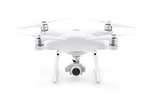 DJI Phantom 4 – Drone cuadricóptero (velocidad 20 m/s, 4000 x 3000p, 5350 mAh), color blanco