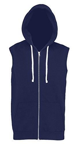 Absab Ltd para capucha con Oxford hombre Navy sudadera C1wFv