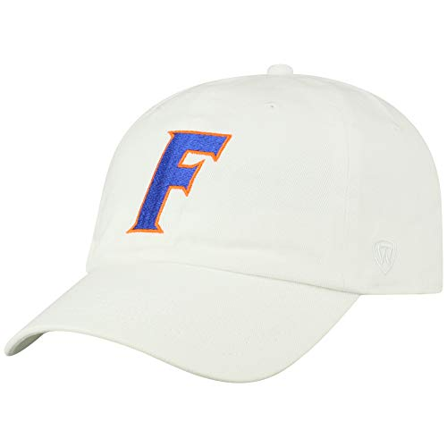 Top of the World NCAA Florida Gators Men's Adjustable Relaxed Fit White Icon Hat, White