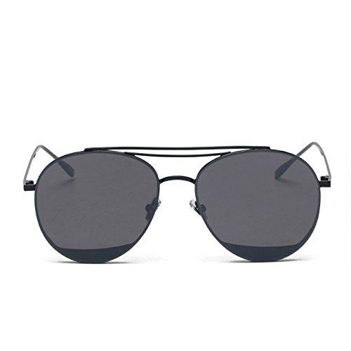 gris Gafas Gris Xue para De Mujer Sol Un zhenghao Gafas Sol De un 7xcqnaABx