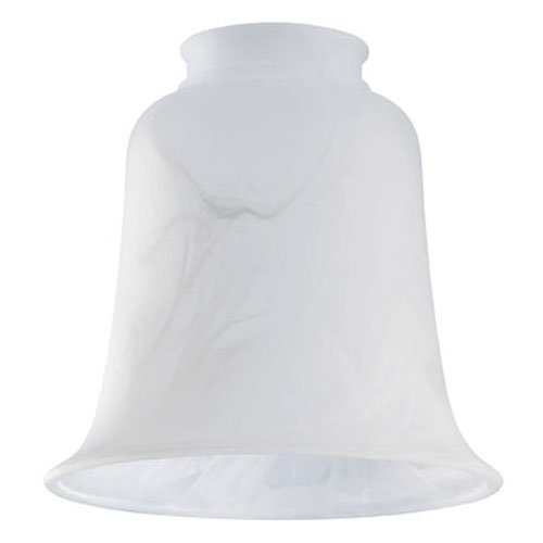 [Westinghouse Lighting  8109800 Corp 5-1/2-Inch Scavo Shade, White] (Milky White Glass Shade)
